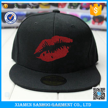 100% Cotton Gold supplier Custom Logo Snapback Hats Wholesale