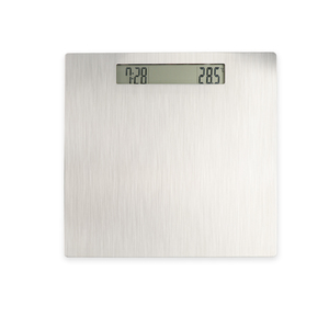 BalanceFrom High Accuracy Premium Digital Bathroom Scale with Extra Large Dual Color Backlight Display stylish silver