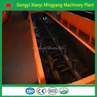 Client highly speaking Large Capacity High Mixing Ratio concrete twin screw mixer/Double Shaft Clay Mixer With ISO & CE