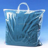 Transparent clear pvc blanket zipper bag pillow carry bag