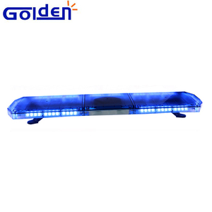 Electric car roof top blue led security emergency traffic warning light bar