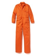 Factory supply cleanroom <span class=keywords><strong>oranje</strong></span> overall <span class=keywords><strong>jumpsuit</strong></span> voor mannen