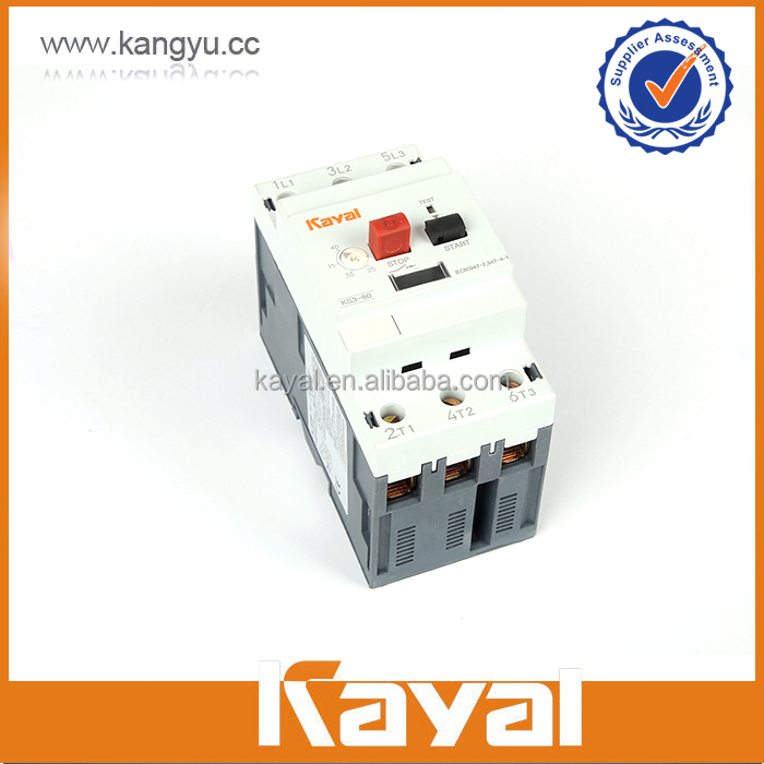 Combined Thermal Overload Motor Overload Protection Switch