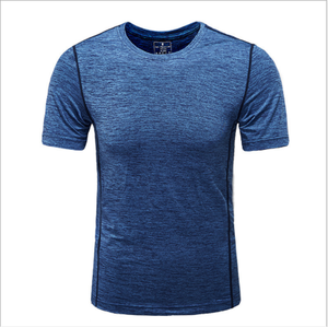 Wholesale Cotton Dry Men t-shirt Breathable Gym Sports t-shirt