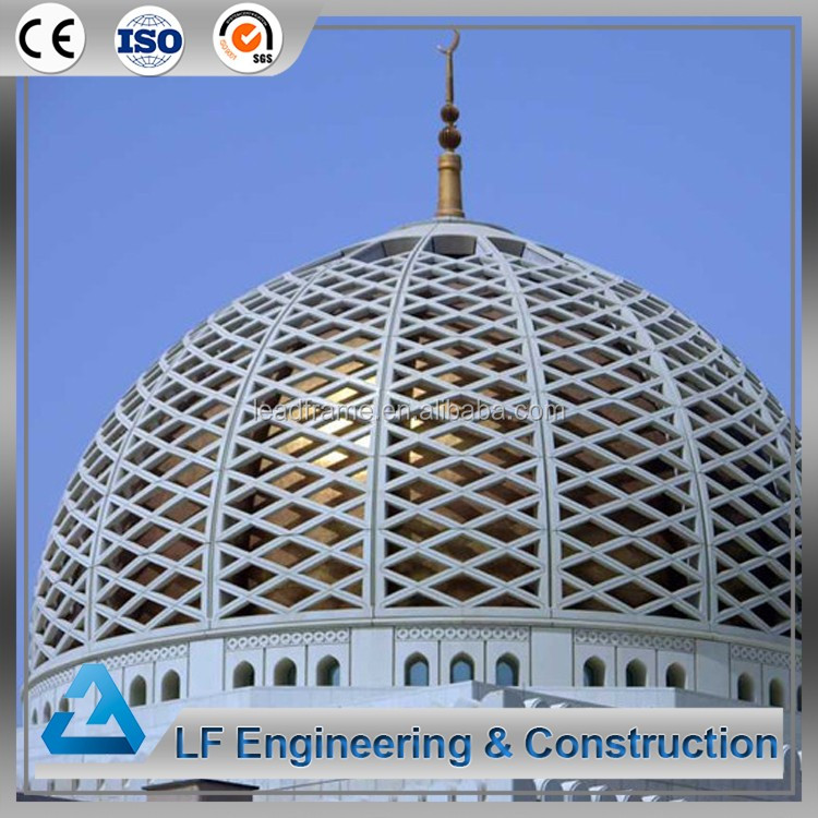 Beamless Cover Structure Construction Mosque Dome