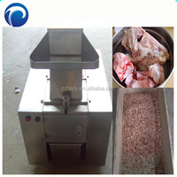 Bone shredding machine Animal bone cube crush machine Pig goat ox bone grinder machine