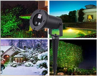New product Green & Red Static Laser Projector Landscape waterproof laser lights Christmas lights for outdoor
