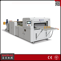 Gaobao Wholesale China Factory 7KW Full Automatic roll to Sheet Cutting and Punching Machine