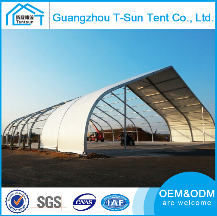 Custom high quality pvc fabric aluminium frame outdoor event curved marquee tent for swimming pool