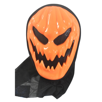 High Quality Cheap Masquerade Party Scary Pumpkin costume pvc Halloween cosplay horror mask