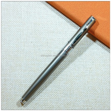 Promotional wedding favors pen metal roller pens with quality cap
