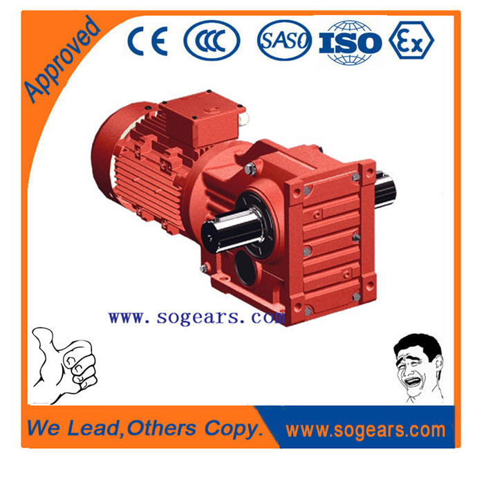 Most common and advanced transmission device pro s series gear motor for industry