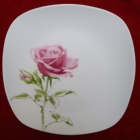 fine porcelain round dessert plate ceramic soup plate,Best price wholesale cheap round/square food dessert plates