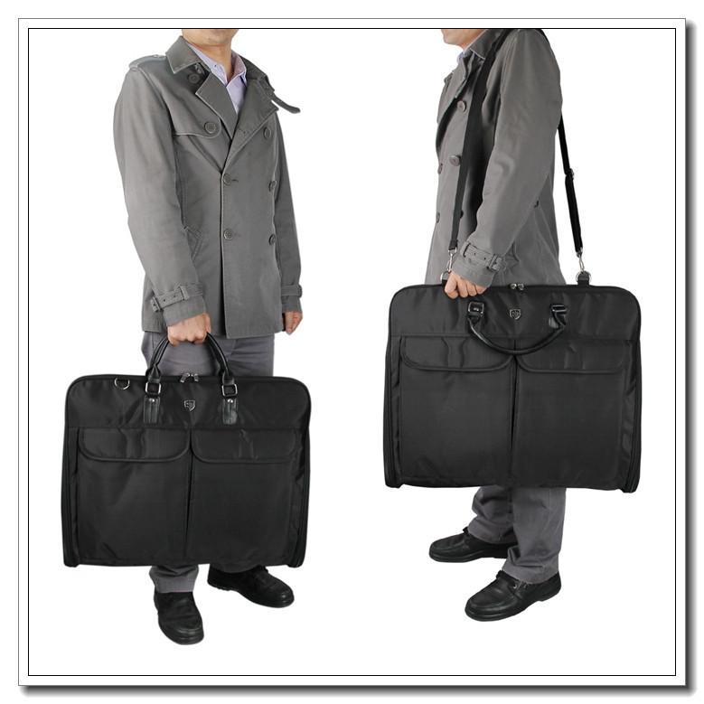 Get Quotations Waterproof Clothing Shirt Suits Storage Bags Fashion Floding Travel Bag Portable Men S Suit Black