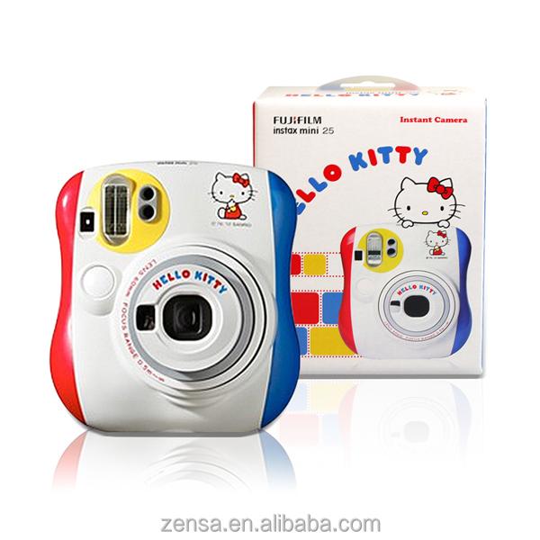 Fuji Fujifilm Instax Mini 25 Hello Kitty Instant Camera RED YELLOW BLUE
