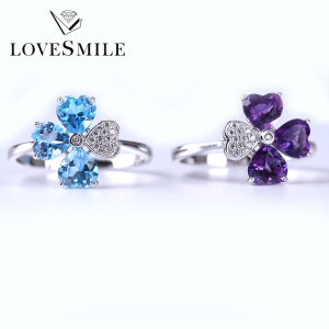 Crystal avenue wholesale jewelry for women value 925 silver ring