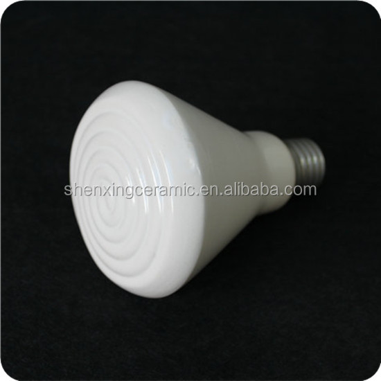 Professional E27 infrared ceramic heating lamp emitter for pets and reptile