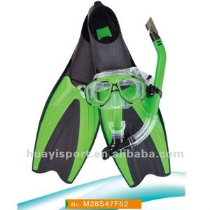 The scuba diving fins are large and efficient diving fins for adult