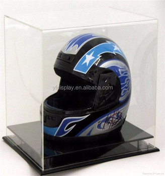 High Transparent Acrylic Motorcycle Hat Display Box - Buy Clear Hat ... 8a2900229a2