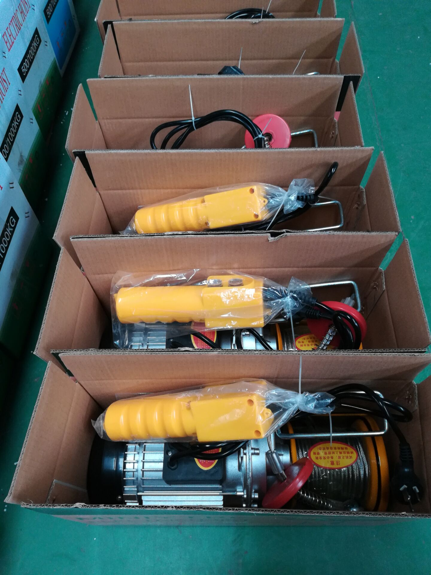 Mini Crane Pa200 Pa800 Small Electric Cable Hoist 100kg