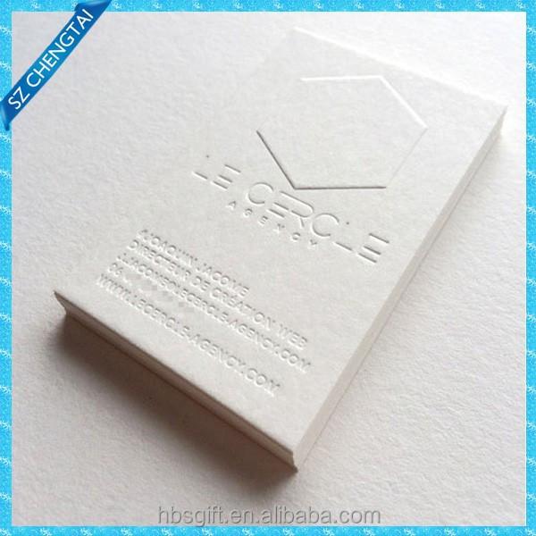 coton pais papier couleur bord appel cartes typographie cartes de visite impression. Black Bedroom Furniture Sets. Home Design Ideas
