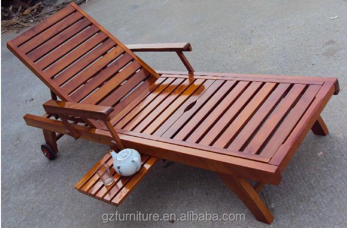 Perfect Wooden Steamer Chair Reclining Sun Lounger Wood Garden Furniture   Buy  Lounger Chair,Patio Loungers,Outdoor Garden Furniture Product On Alibaba.com