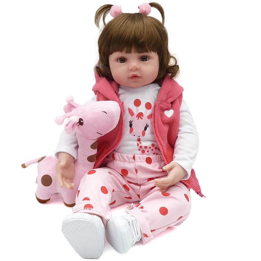 Soft Silicone Bebe Reborn <strong>Dolls</strong> Real <strong>Doll</strong> For Kids Toy