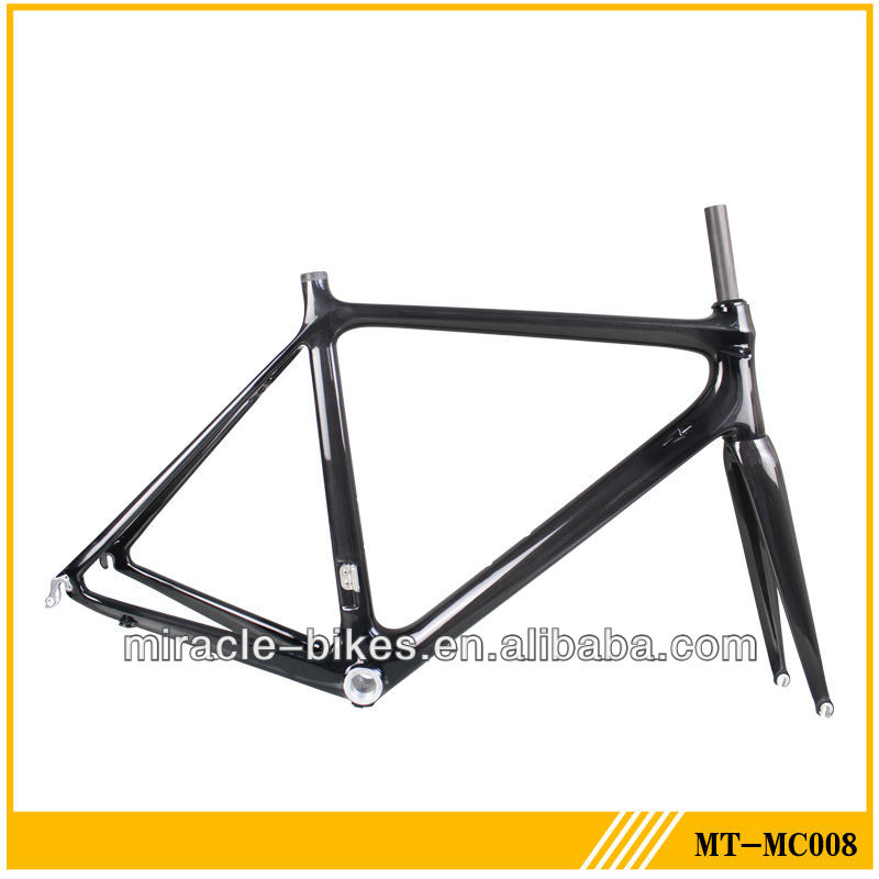 Carbon race fiber frame,toray carbon t700 bikes frames customized painting