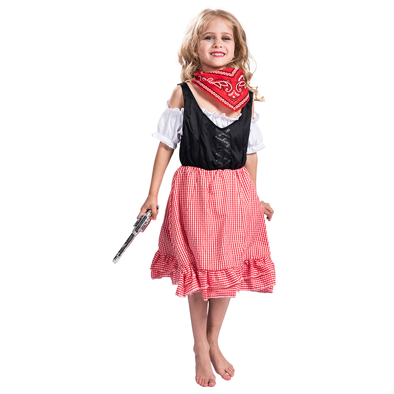 Wholesale Hot Sale Children warrior Cosplay Costume Halloween kids pirate costume