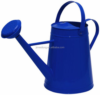 Garden Metal Watering Can With Handle