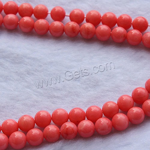 grade AAA natural synthetic drum carved jewelry red coral beads