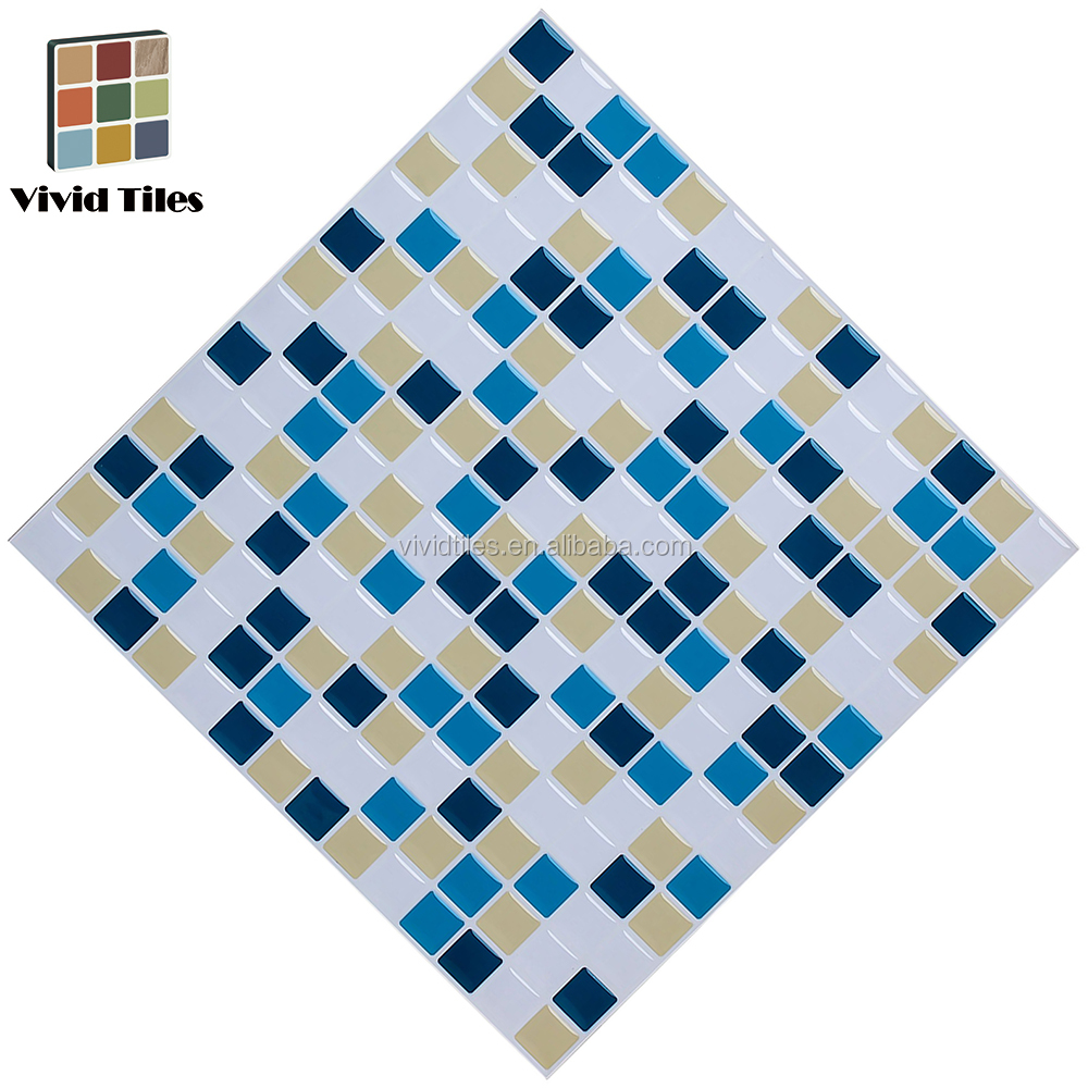 Buy Art Decals For Walls 3d Adhesive Faux Tile Vinyl Peel And Stick ...