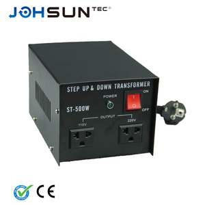 JOHSUN ZX-500 AC 110v to 220v voltage converter 500w step up/down voltage transformer 220v/110v