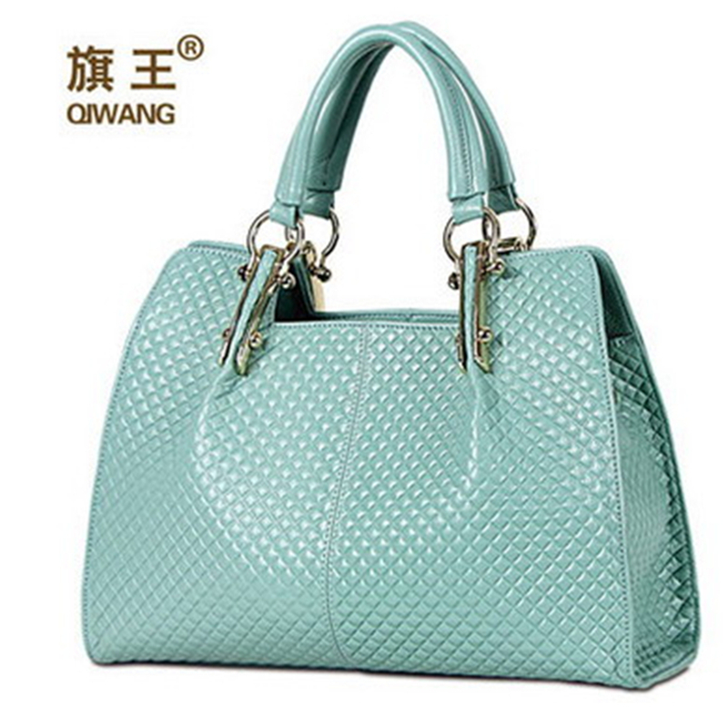 Qiwang Great Quality Brand Designer <strong>Handbags</strong> High Quality Embossed Cowhide Natural Leather Women Designer Bag <strong>Handbags</strong>