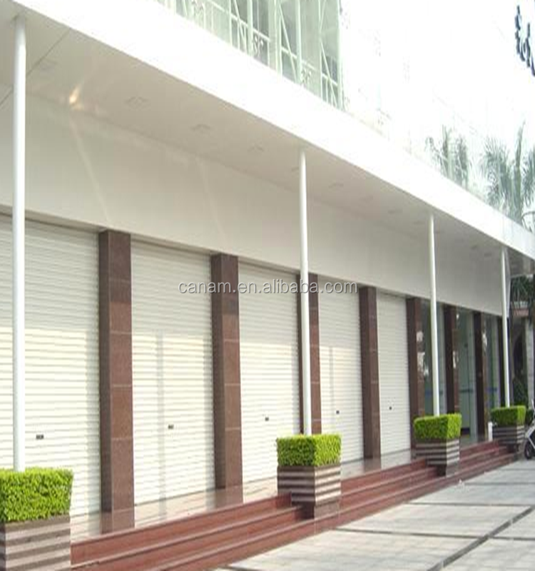 High Quality Manual Industrial Rolling Shutter Garage Door