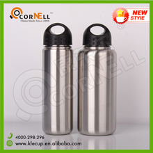 new products 2016 Large diameter American ewer stainless steel water bottle can design logo