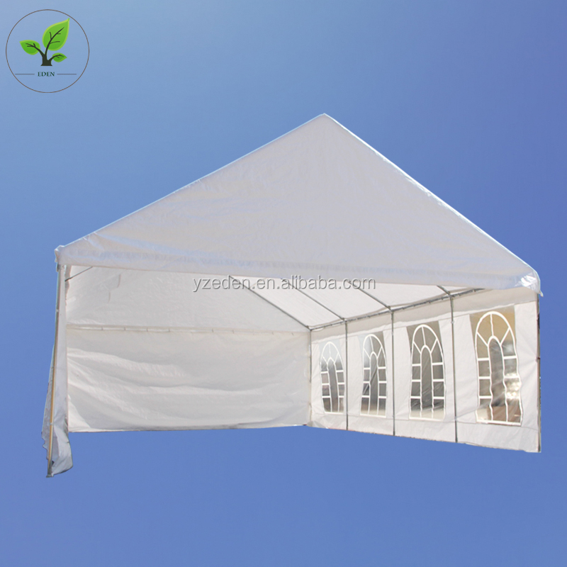 Vendite calde heavy duty outdoor bianco wedding party tenda canopy 20x30 con i lati per la vendita