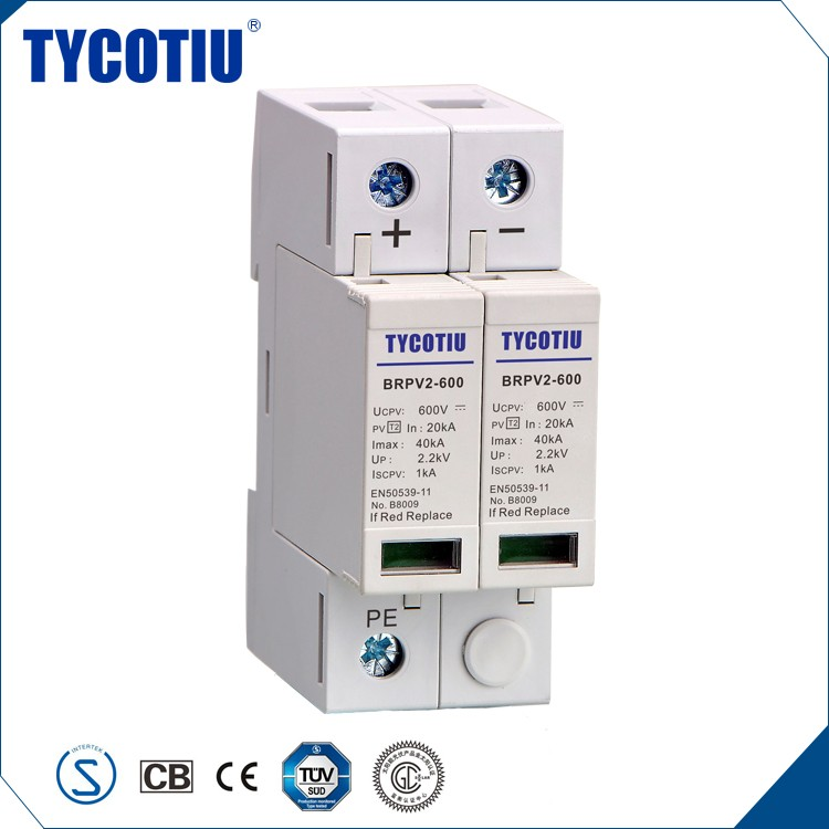 TYCOTIU Import China Products Lightning Protection Module Pv Surge Arrester