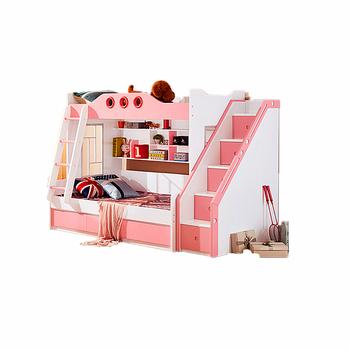 Lovely Bedroom Furniture Sets Girls Bunk Bed - Buy Kid Bed,Bed Room  Furniture,Pink Kids Bed Product on Alibaba.com