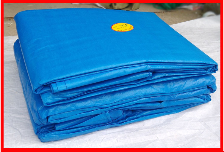Waterproof Orange Blue Polyethylene Tarpaulin Pe Tarps