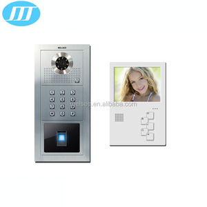 Fingerprint video outdoor intercom