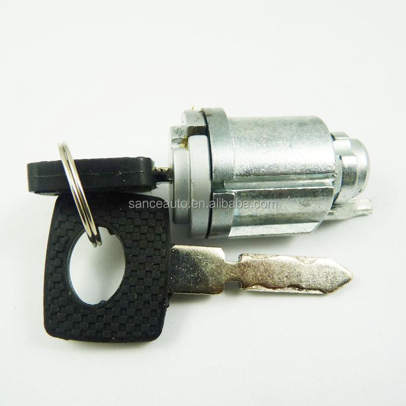 Fit For Mercedes W123 W126 Ignition Lock Cylinder + Keys Set ...