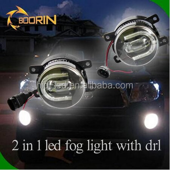 2pcs 3.5inch Car Projector Light Led Auto Daytime Running Light ...