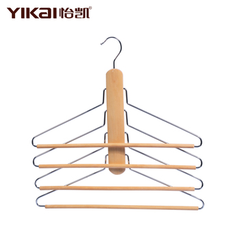 Wonder Wooden Hanger Closet Clothes Organizer/Space Saver Storage Hanger