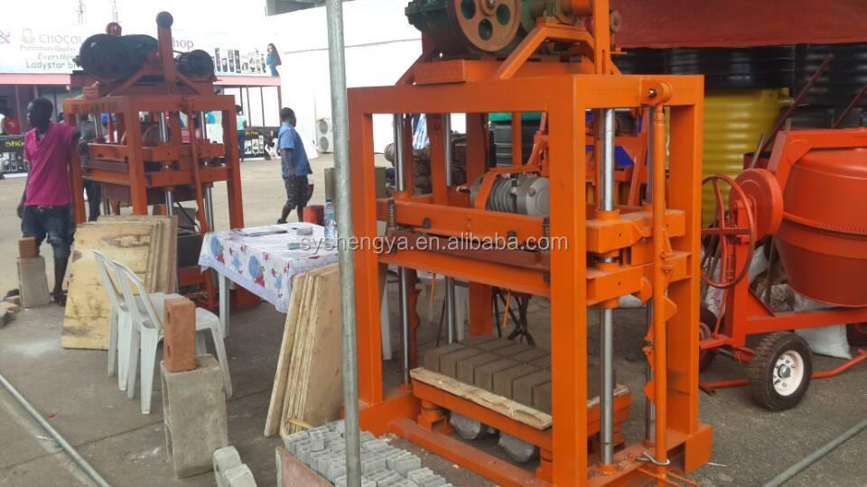 Hollow Block Machine For Sale Qtj4 40 Concrete Block