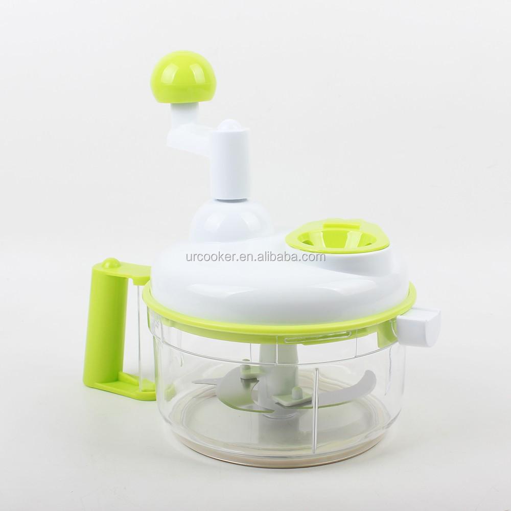 Single Blade Hand Food Mixer ~ Multi blades hand held vegetable chopper swift food