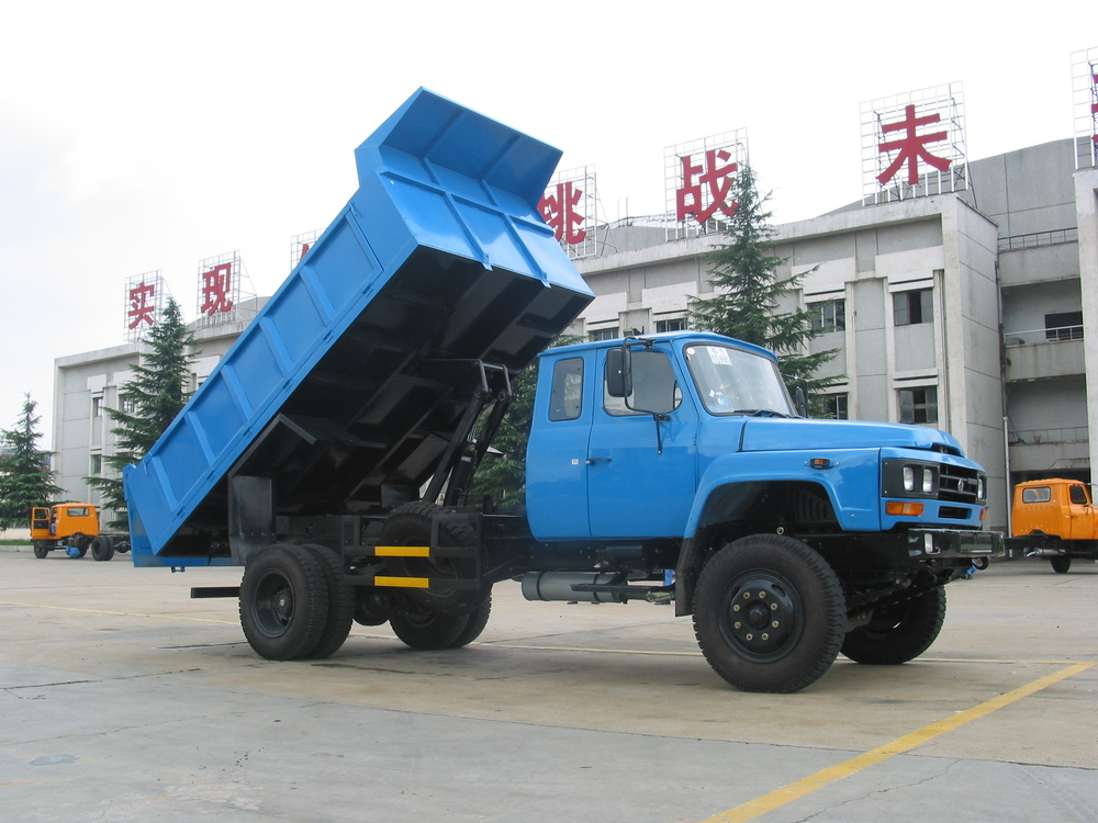 Dongfeng dump truck for sale in dubai 140hp