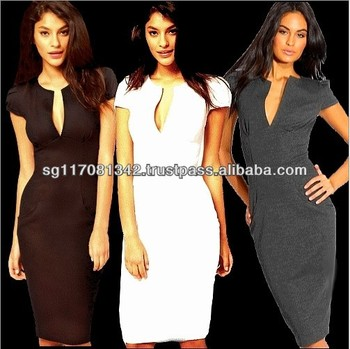 Work Dresses Polyester