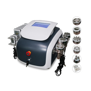6 in1 radiofrequency beauty face lift ultra cavitation machine