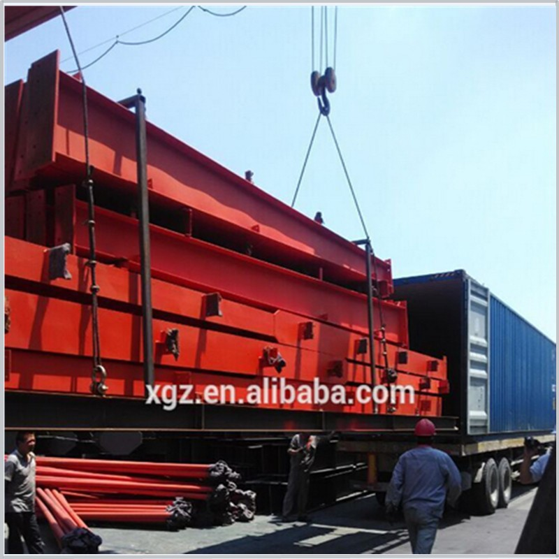 large prefabricated warehouse